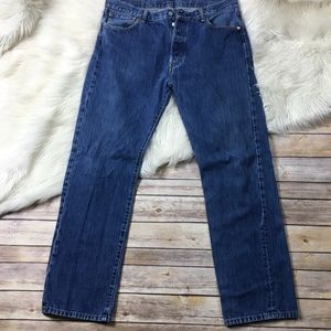 Levi's Jeans Button Fly Medium Wash Straight leg